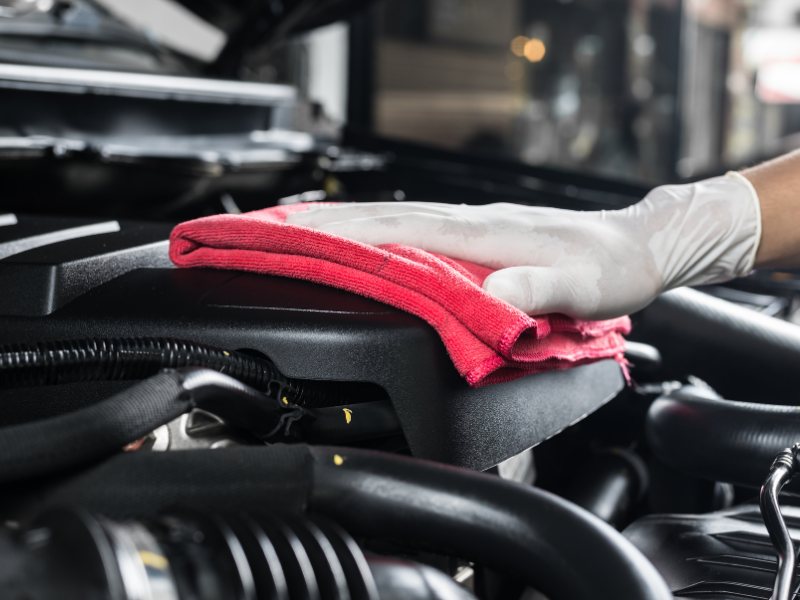replacing a vehicle's engine
